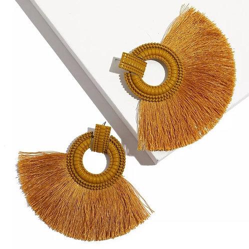 Savannah Earrings (Tan)