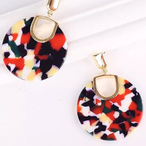 Naomi Earrings (Fall Fetti)