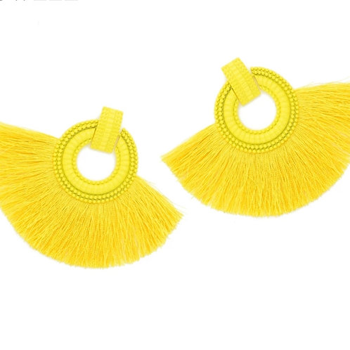 Savannah Earrings -Yellow