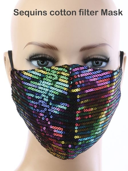 Unicorn Sequin Mask