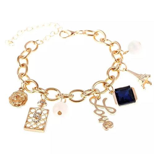 Pretty Posh Charm Bracelet