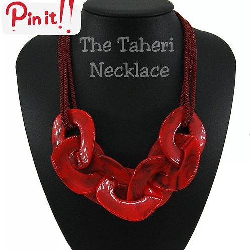 Bedrock Beauty Necklace (Red)