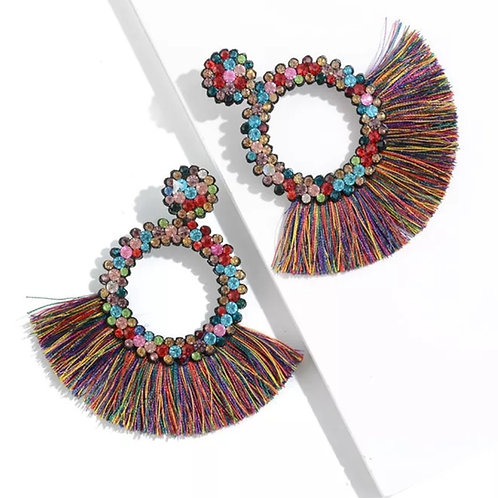 Oh For Sure Earrings (Rainbow)