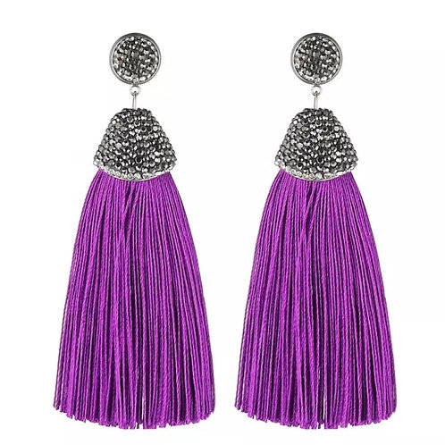 Kamora Earring (Purple)