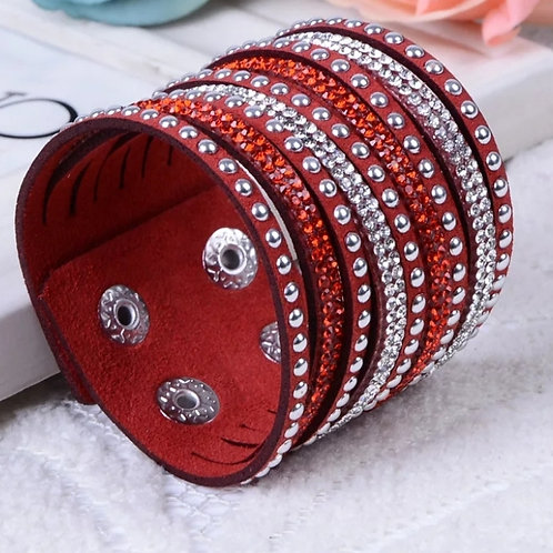 Bling Baby Wrist Band (Red)
