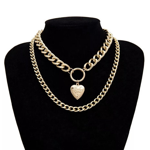 Heartbreak Necklace (Gold)