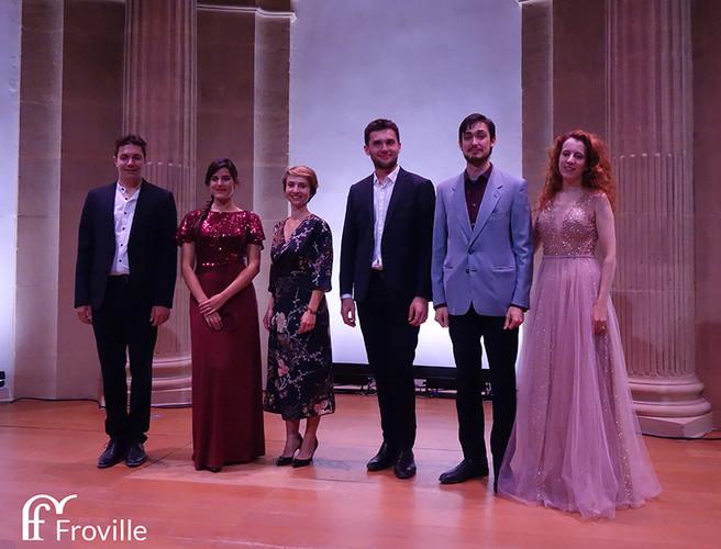 Les 6 finalistes
