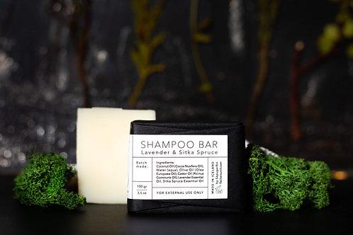 Lavender and Sitka Spruce Shampoo Bar