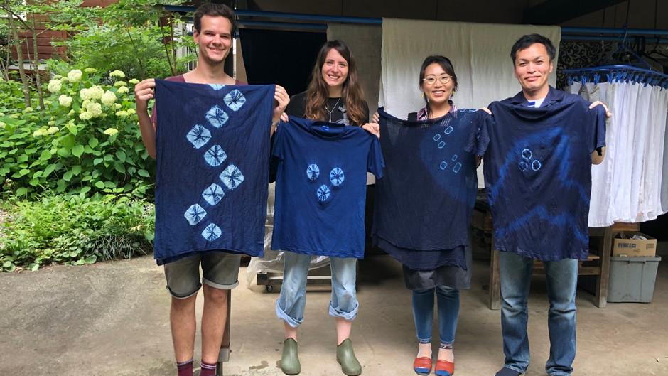 藍染めワークショップ開催しました!