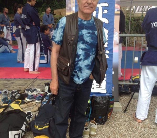 マリアとジャン ピエールが、カンヌで日本の夏祭りに行って来ました。