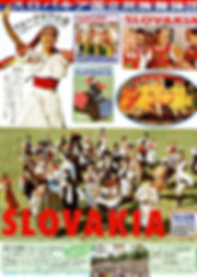 Folklore Report 1993 slovensko slovakia folk dances