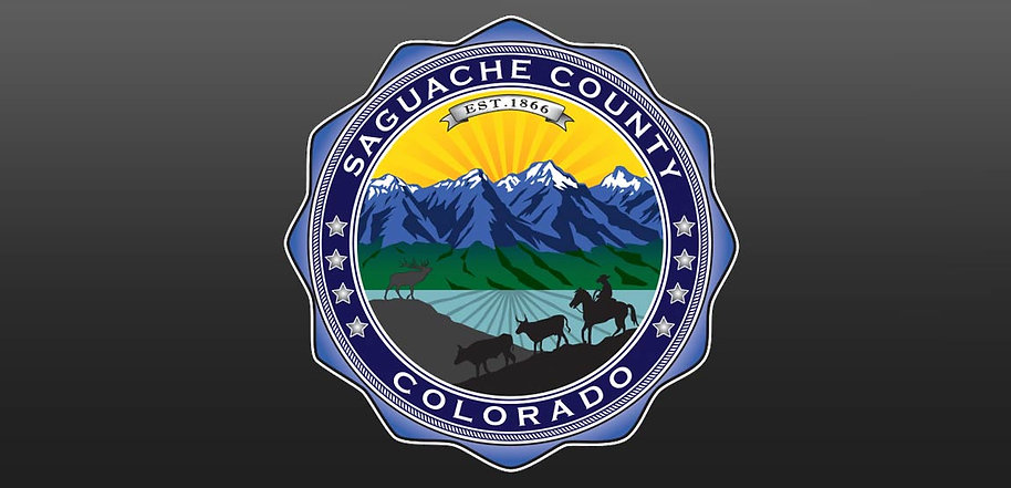 Saguache Count Seal, Designed by Mark Talbot, Xplore Design LLC