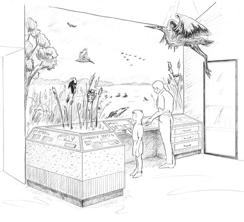 Open Water - concept sketch