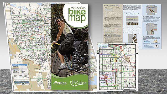 City of Fort Collins Bike Map
