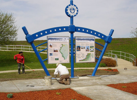 Great River Road Byway Exhibits completed & installed!