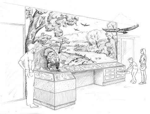 Concept Sketch - Riparian Habitat