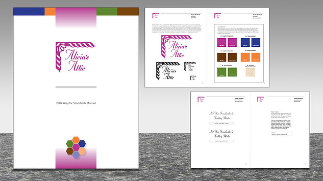 AliciasAttic Brand & Visual Standards Manual