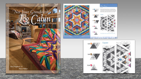 Log Cabin Quilts, Instructional Book
