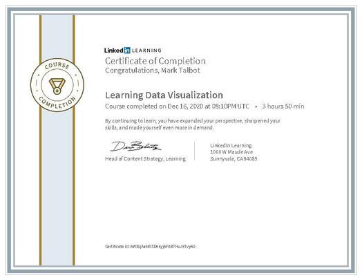 Learning Data Visualization