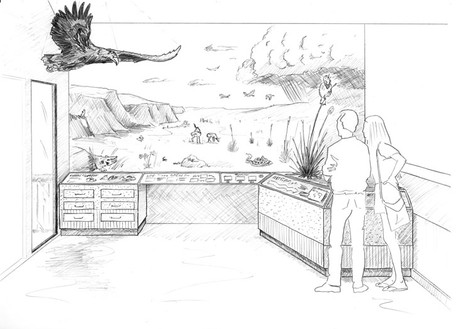 Upland Prairie - concept sketch