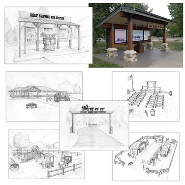 Cherry Creek State Park - Concepts & Exhibits
