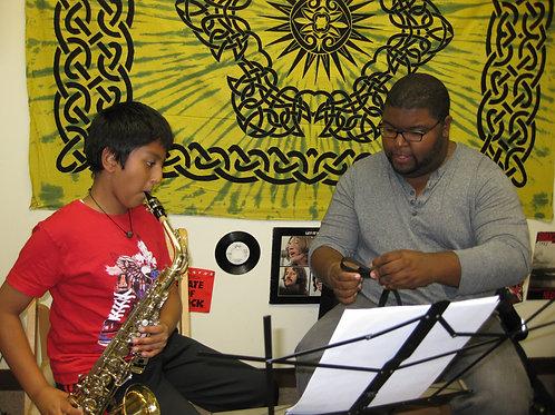 Six Weeks Virtual Group Saxophone Lessons