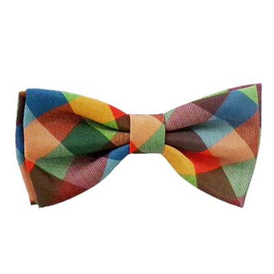 Fall Check Bow Tie