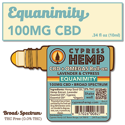 Equanimity 100mg CBDF Roll-On