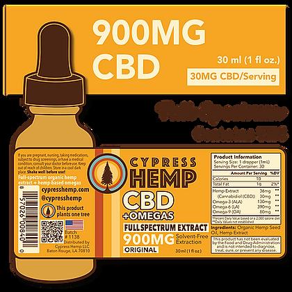 Full Spectrum 900mg CBD+OMEGAS