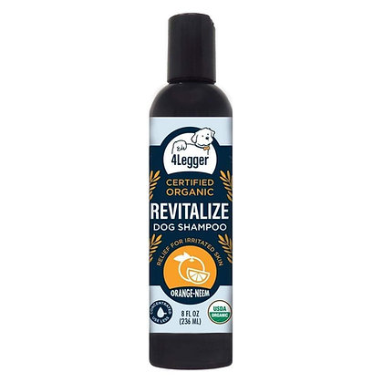 Revitalize USDA Certified Organic Neem Dog Shampoo
