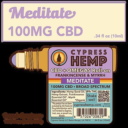 Meditate 100mg CBD Roll On