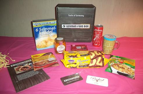 German Food Box...YUMMY