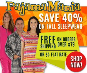 Holiday Pajamas at 40% OFF!!!!