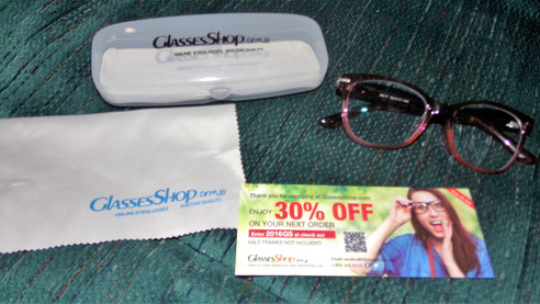 Glasses Shop-Prescription Glasses delivered right to your door at up to 80% off regular prices...oh