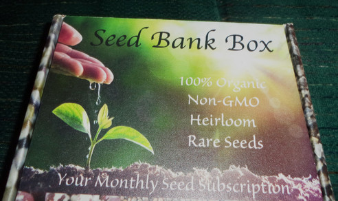 Earth Day Celebration with Seed Bank Box