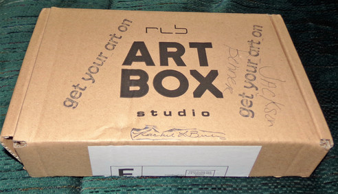 RLB ARTBOX Studio Subscription Box Review Creative art projects and supplies brought right to your d