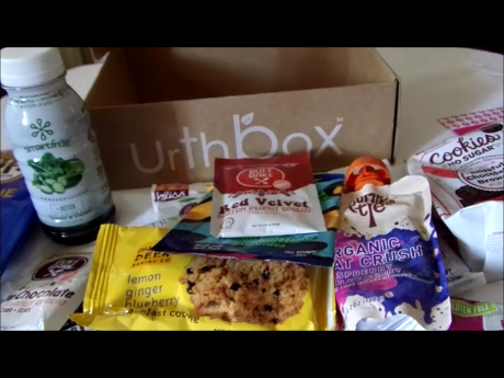 Urth Box Subscription Box...Healthy snacking choices you'll love!!!!!