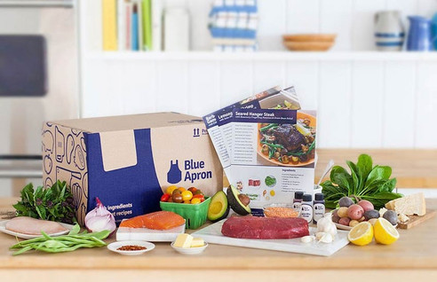 Love Going Out To Eat But Hate the Prices? Why not try Blue Apron? The Subscription Box - Restaurant