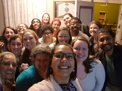 Selfie after addressing a group of American students on the realities of life in Bo-Kaap