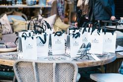 Lucky Fitsch Influencer Bags prepared for an event