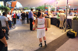 Charity boxing event at the Cape Quarter