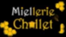 Logo Miellerie Challet fond transparent.
