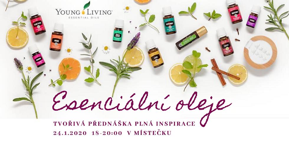 Esenciální oleje - tvořivá přednáška/OBSAZENO