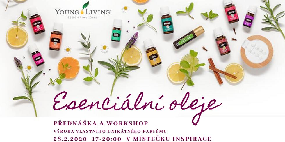 UNIKÁTNÍ OSOBNÍ PARFÉM - tvoříme s esenciálními oleji