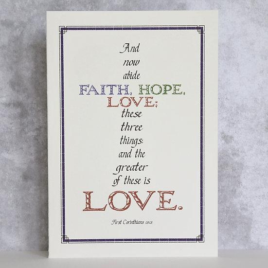 First Corinthians 13:13