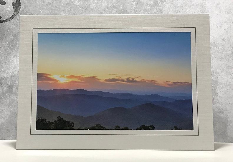 Mystical Blue Ridge Mountains