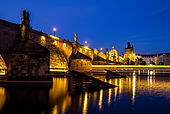 Charles Bridge from the water