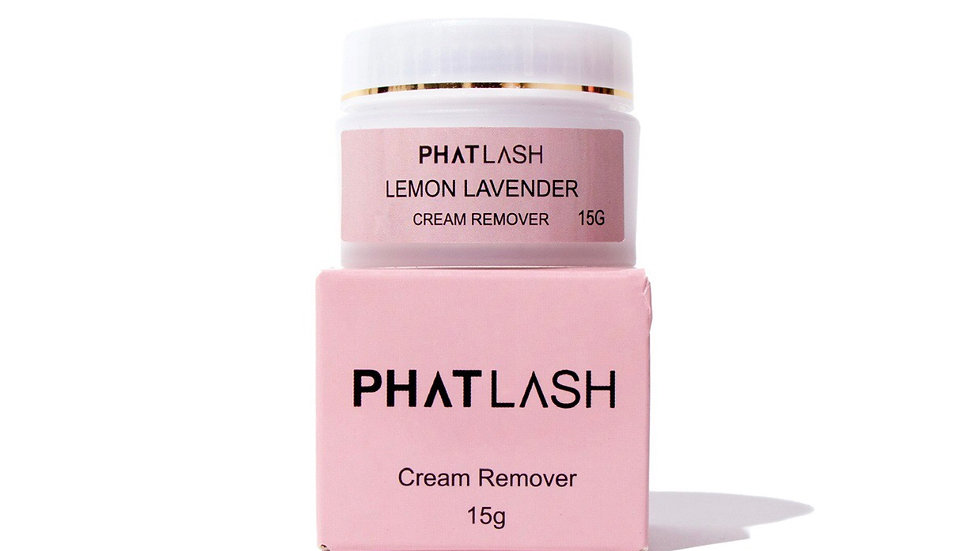 Lemon Lavender  Cream Remover