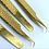 Thumbnail: Gold 90 Degree Tweezers