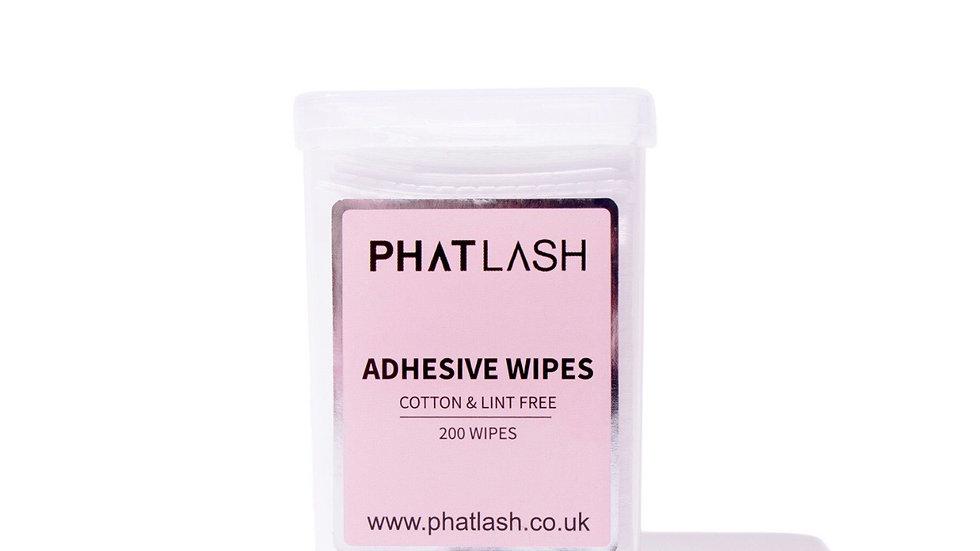Phatlash Adhesive Wipes